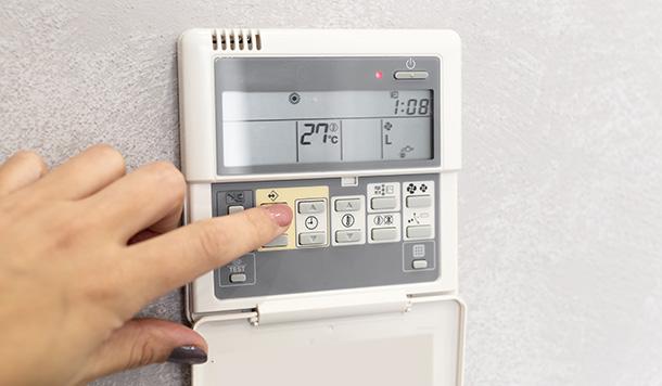 Control de aire acondicionado